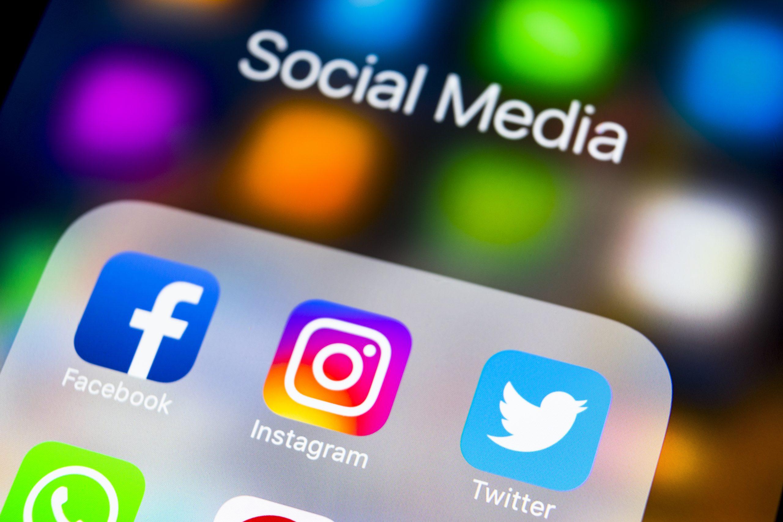 Online Business auf Social Media
